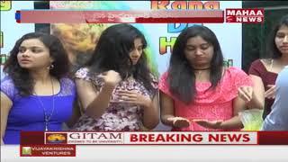 Holi festival celebrations starts in Hyderabad | Mahaa News