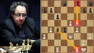 Gelfand's Immortal Bishop  | Gelfand vs Aronian | Candidates Tournament 2013. | Round 9