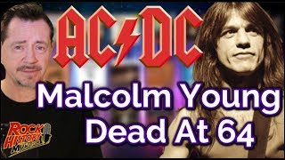 Guitarist Malcolm Young of AC/DC Dead at 64
