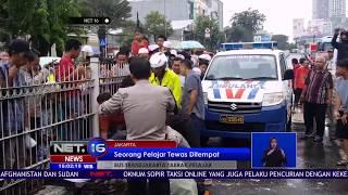 Seorang Pelajar SMP Tewas Tertabrak Bus Transjakarta - NET 16