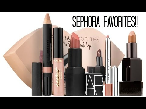 SEPHORA FAVORITES || Give Me So Nude Lip Kit Review