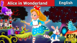 Alice in the Wonderland Story in English | English Story | Bedtime Stories | English Fairy Tales