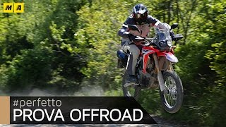 Honda CRF 250 Rally TEST: baby da rally! [ENGLISH SUB]