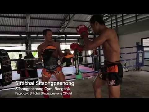 Sittichai Sitsongpeenong Muay Thai Pad Rounds