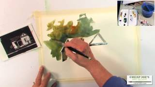 Pat Weaver - Watercolor Techniques - Creating Shadow Shapes with a Limited Palette
