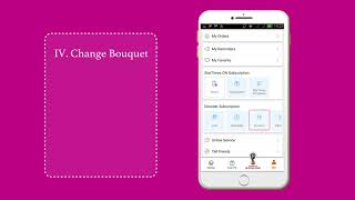 Changing Bouquet on StarTimes APP
