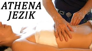 Abdominal or Tummy Massage Relaxation Techniques - Full Body Series 6 of 7 HD 60P ASMR Athena Jezik
