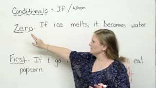 Conditionals - zero & first conditionals (English Grammar)