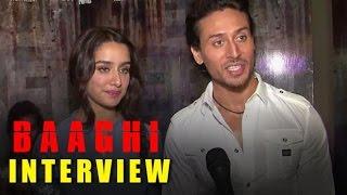 BAAGHI Movie 2016 HD - Interview | Tiger Shroff, Shraddha Kapoor