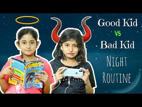 Xxx Mp4 Good Kid Vs Bad Kid Night Routine Sketch Fun MyMissAnand 3gp Sex