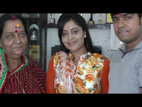 Xxx Mp4 Must Watch Bhojpuri Actress Shubhi Sharma Ganesh Chaturthi Celebrations 2016 At His Home 3gp Sex