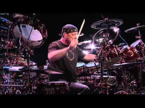 Neil Peart Drum Solo 1080p HD David Letterman Jun 09 11