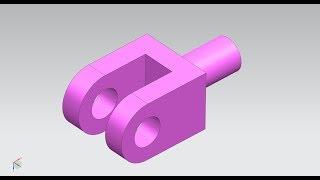 3D Modeling Siemens nx unigraphics tutorial _ 01_subbu valavala