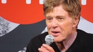 Robert Redford discusses Oscar Snub at Sundance 2014