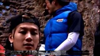 Eng Sub GOT7 Jackson & EXID Hani diving cut