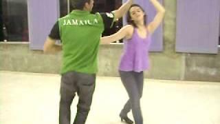 Angélica and Vinicius dancing zouk
