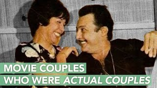 Movie Couples Who Were Actual Couples - أشهر ثنائي امام وخلف الكاميرا