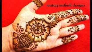 easy mehndi designs for hands mehndi designs for marriages matroj mehndi designs