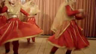students of guru shri parveen gangani presents tarana, red squer, moscow,14.02.2010