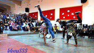 bboying 3 on 3 final battle @Hometown love II,Shillong, Northeast India 2014