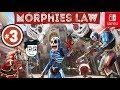 Morphies Law #3  Modo de Juego   ¡Caza cabezas!   Nintendo Switch