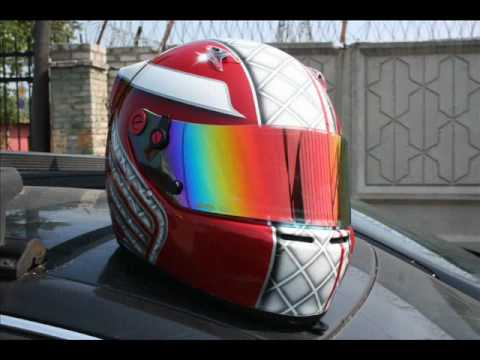 Airbrush helmet Arai SK 5 Honda Drive Аэрография � а шлеме