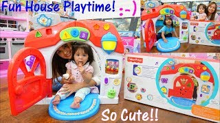 Toy Channel: Educational Toy for Toddlers. Fisher-Price Interactive Play Set. Learn Shapes & Letters