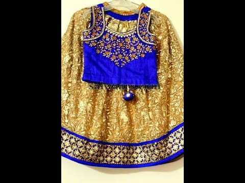 new baby lehangas with designer blouses
