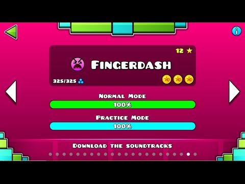 "Xxx Mp4 Geometry Dash – ""Fingerdash"" 100 Complete All Coins GuitarHeroStyles 3gp Sex"