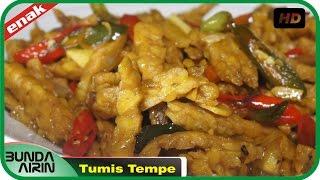 Cara Membuat Tumis Tempe Resep Masakan Indonesia Gampang Dipraktekkan Recipes Indonesia Bunda Airin