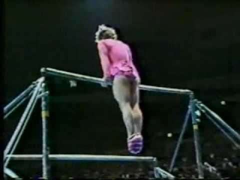 1981 Nadia Tour gymnastics Paul Hunt comedy uneven bars