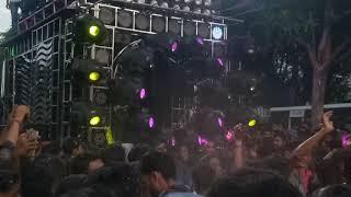 Green DJ new setup in nalco Biswakarma Vashani in 2k18