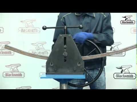 Трубогиб руч� ой MTB31 40 профилегиб Blacksmith