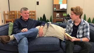 Rick Riordan - Interview by Ky Baldwin [HD]