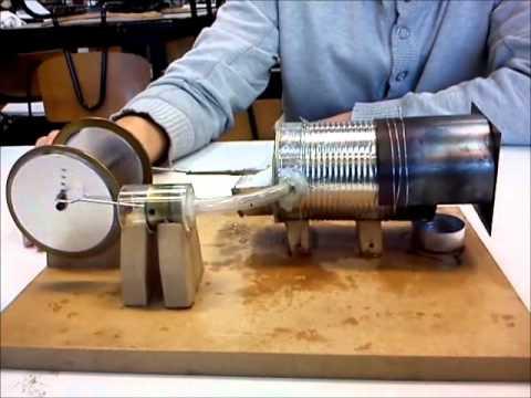 Stirlingmotor Gruppe 7 P&K DTU 2010