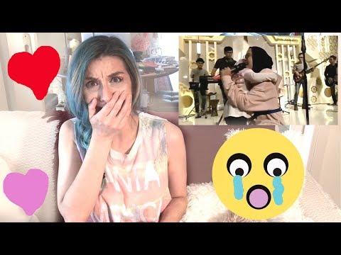 Download Lagu Reaction: SABYAN live, Nissa and a little girl (Deen Assalam song) MP3