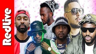 10 Most Watched Hip Hop Music Videos of 2017 | South Africa