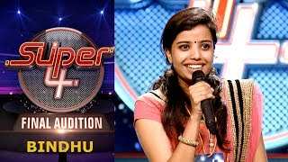 Super 4 I Bindhu-Final Audition I Mazhavil Manorama