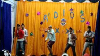 mumbhai dance by boys of st vincent