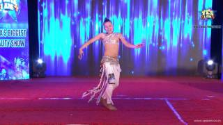 Performance of Pratik Hingmang  at Mega2 Audition of YES I AM Reality Show