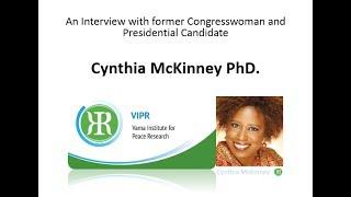 Former US-Presidential Candidate Cynthia McKinney PhD on Gaza, Palestine, Obama, Trump, 9/11