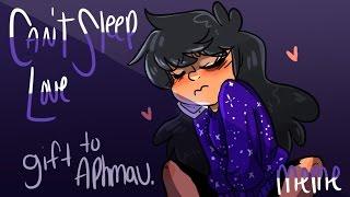Can't sleep love MEME  gift for Aphmau