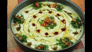 فول بطحينة على طريقة المطاعم السورية بزيت الزيتون  فطور صباحي سوري مع رباح محمد ( الحلقة 568 )
