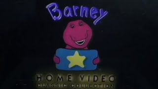 Opening to Barney's Once Upon A Time 1996 UK VHS