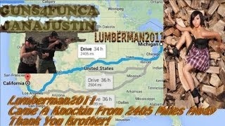 Lumberman2011 Came A Knocking Unboxing Gifts Going Solar
