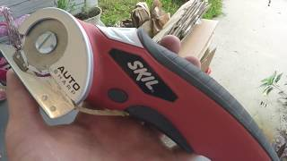 Skil power multi cutter in action