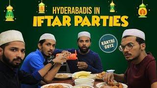 Hyderabadis In Iftar Parties   Funny Hyderabadi Comedy   Kantri Guyz