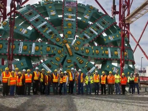 Seattle s Big Bertha tunnel drill blocked by mystery object