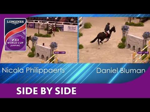 Nicola Philippaerts vs Daniel Bluman - NAL - Longines FEI World Cup™ Jumping - Washington DC