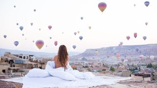 The land of balloons: 90 seconds in Cappadocia